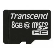 Transcend 8GB Class 10 MicroSDHC Memory Card