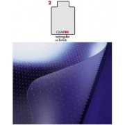 Covoras PVC transparent, protectie parchet/gresie, 121cm x 92cm - cu limba, FLOORTEX