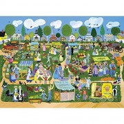Bits and Pieces-Green Farmer's Market - 1000 Piece Jigsaw Puzzle by Melville Direct