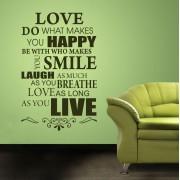 Love as long as you live - 99L x 154Î!(B293)