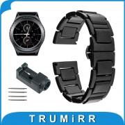 20mm Ceramic Watchband for Samsung Gear S2 Classic R732 & R735 Moto 360 2 Gen 42mm Men 2015 Smart Watch Band Link Strap Bracelet