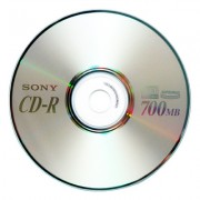 CD-R Sony 52x 700MB Blank