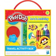 Play Doh Travel Activity Box, Multi Color