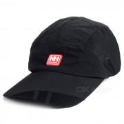 Deportes al aire libre Sun-bloqueo transpirable enarbolo el sombrero de beisbol - Negro