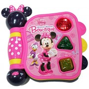 Disneys Minnie Mouse Bow-tique My First Learning Book Lights and Sound.