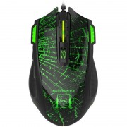 Mouse gaming Newmen G364 Black / Green