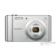 Aparat foto digital Sony Cyber-Shot DSC-W800, argintiu