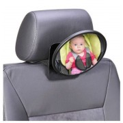Babafigyelő tükör a hátsó ülésre (menetiránynak háttal utazó gyermek esetén)