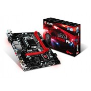 MSI B150M GAMING PRO Intel B150 LGA1151 Micro ATX scheda madre