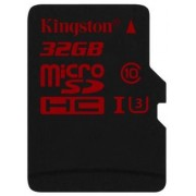 Card de memorie Kingston microSDHC U3 UHS-1 32GB (Class 10)