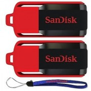 SanDisk Cruzer Switch 32GB USB Flash Drive SDCZ52-016G-B35-2PK