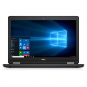 Laptop Dell Latitude E5570 15.6 inch Full HD Intel Core i7-6600U 8GB DDR4 500GB HDD AMD Radeon R7 M360 2GB FPR 4G Windows 7 Pro upgrade Windows 10 Black