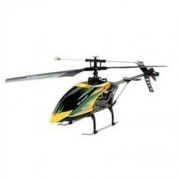 Távirányítású Rc helikopter 2,4 GHz 4 csatornás/gyroscope RTF - WLToys v.912 kültéri