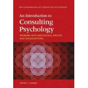 An Introduction to Consulting Psychology by Rodney L. Lowman