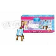 Kit de Pintura Princesa do Gelo - Brincadeira de Criança