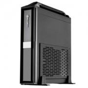 Carcasa Mini-ITX SilverStone Milo ML08-H + Handle USB 3.0 Black, SST-ML08B-H