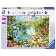 Ravensburger puzzle tigri, 1000 piese