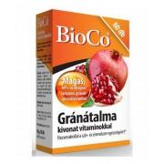 BioCo Gránátalma kivonat tabl. 80 db