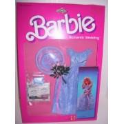 Barbie Romantic Wedding Flower Girl Skipper Purple Dress Set by Mattel