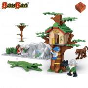 BanBao Trädkoja med djur 6656