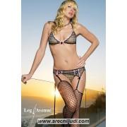 Leg Avenue sexy ves - Brus , halteri i tange 81168