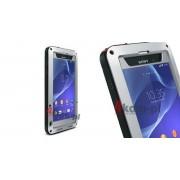 Etuli Love Mei do Sony Xperia Z2 - Srebrny