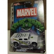Maisto 1:64 Scale White Hulk Humvee Die Cast Car Marvel