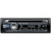 Sony MEX BT4100 EUR CD MP3 player auto 1 DIN Bluetooth USB Control direct iPhone iPodApp Remote pentru iPhone Microfon extern inclus Iluminare variabila