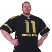 Gorilla Wear GW Athlete T-Shirt Dennis Wolf Black/Gold - XXXL