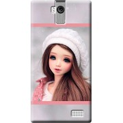 Fashionury Printed Back Case Cover For Karbonn A6 Turbo -Print27195