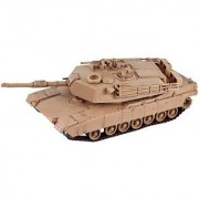 InAir Classic Armour E-Z Build Modern Tank Battery-Operated Model Kit - M1A1 Abrams
