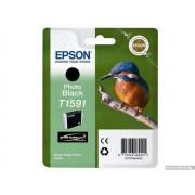 EPSON Photo Black Inkjet Cartridge T1591 for Stylus Photo R2000 (C13T15914010)