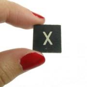 Magnético-Figura decorativa de letra X