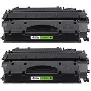 ARCON 2PK (6 900 pages) High Yield Compatible Toner Cartridge Replacement For HP 80X CF280X CF280 Used For HP LaserJet Pro 400 M401dne M401dw M401dn MFP M425dn ImageClass LBP6300dn LBP6650dn Black
