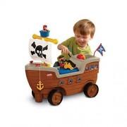 Little Tikes Nave Dei Pirata Cavalcabile Con Contenitore Per Giocattoli
