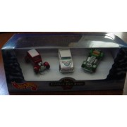 2000 - Mattel - Hot wheels - Vintage Hot Rods - Holiday Set - Ford Vicky / Purple Passion / Sweet 16 - Box & Cars Mint - New - Collectible - Out of Production by Hot Wheels