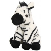 "Wild Republic Zebra CK-Mini Baby 8"" Animal Plush"