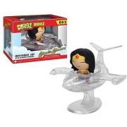 Wonder Woman Invisible Jet Dorbz Ridez with Wonder Woman Vinyl Figure