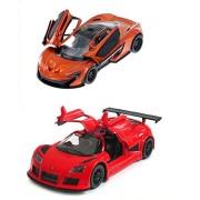 Kinsmart McLaren P1 and Gumpert Apollo Sport