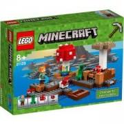 Конструктор Лего Майнкрафт - Островът на гъбите - LEGO Minecraft, 21129