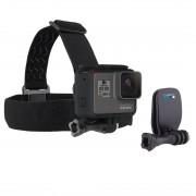 ゴープロ GoPro ヘッドストラップ&クリップ ACHOM-001 メンズ