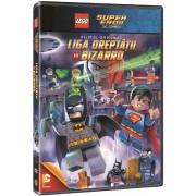 Lego DC Comics Super Heroes: Justice League - Lego:Liga dreptatii vs Bizarrd (DVD)