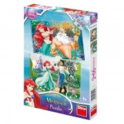 Puzzle 2 in 1 - Ariel (66 piese)