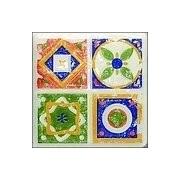 Tubądzin D-Majolika Quartet 1 11,5x11,5