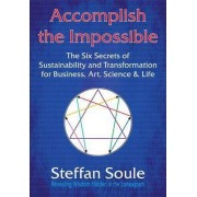 Accomplish The Impossible: The Six Secrets of Sustainability and Transformation for Business, Art, Science & Life by Steffan Soule