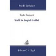 Studii de dreptul familiei.