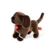 Pia Pia Club 17019 25 cm Bauer Dogs Standing Dachshund Plush Toy