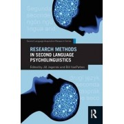 Research Methods in Second Language Psycholinguistics by Jill Jegerski