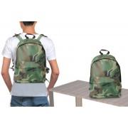 Zaino a spalla camouflage doppio scomparto pratico e leggero militare 725123