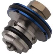Rockshox - Monarch Plus RC3 Reservoir, Componente del pistone, compressione media, colore: Grigio